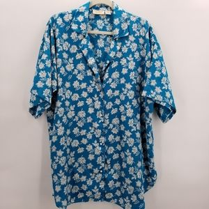 Victoria secret silk night shirt
